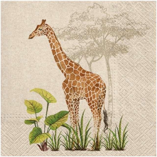 """Serwetki """"We care - żyrafa"""", PAW, 33 cm, 20 szt."""