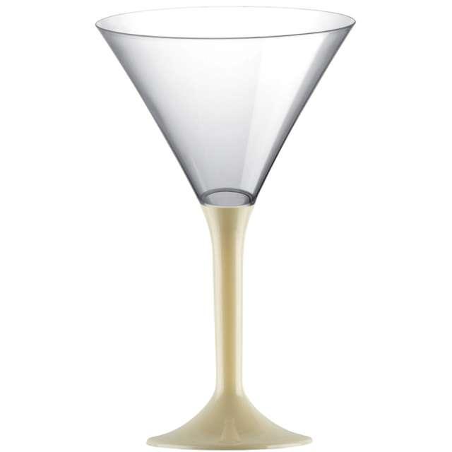 """Kieliszki jednorazowe """"Martini Aperitif"""", szampańskie, GoldPlast, 185 ml, 10 szt"""