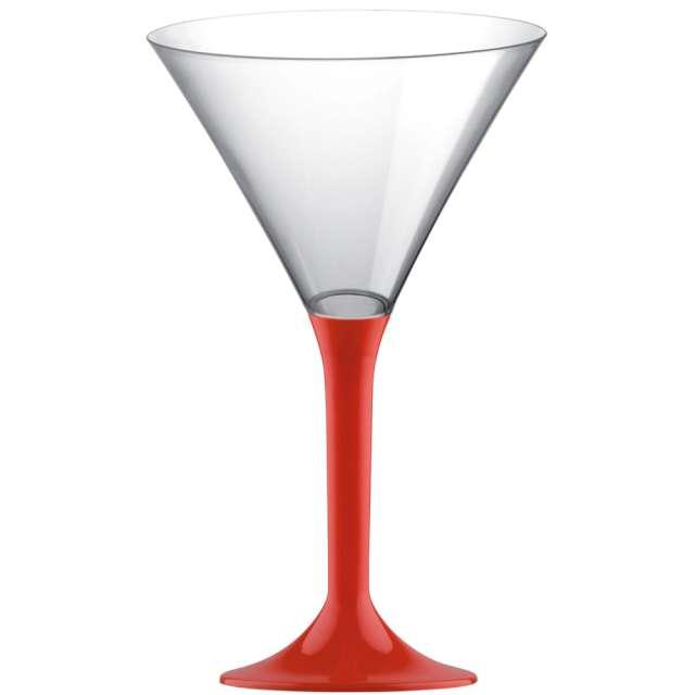 """Kieliszki jednorazowe """"Martini Aperitif"""", czerwone, GoldPlast, 185 ml, 10 szt"""