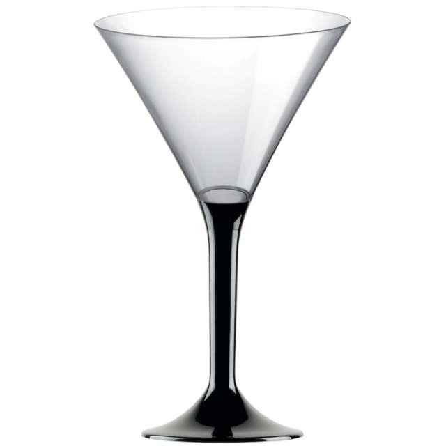 """Kieliszki jednorazowe """"Martini Aperitif"""", czarne, GoldPlast, 185 ml, 10 szt"""