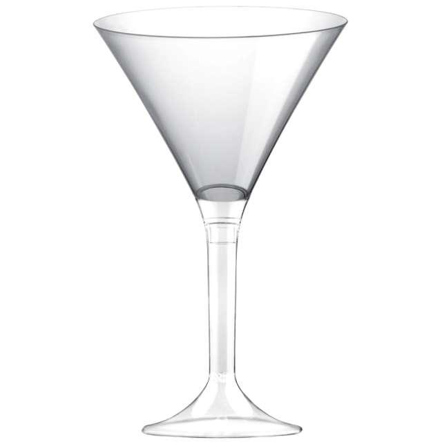 """Kieliszki jednorazowe """"Martini Aperitif"""", transparentne, GoldPlast, 185 ml, 10 szt"""