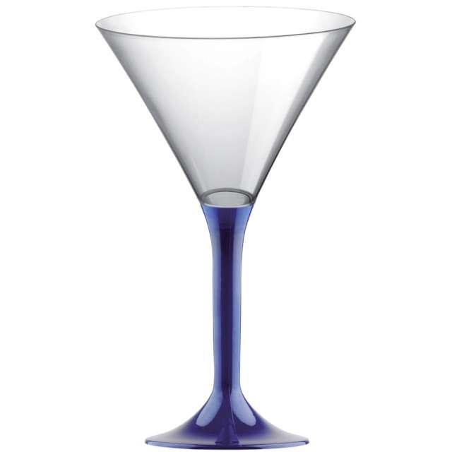 "Kieliszki jednorazowe ""Martini Aperitif"", granatowe, GoldPlast, 185 ml, 10 szt"