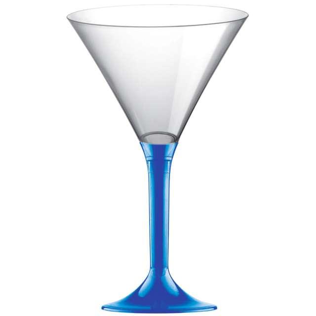 """Kieliszki jednorazowe """"Martini Aperitif"""", niebieskie, GoldPlast, 185 ml, 10 szt"""