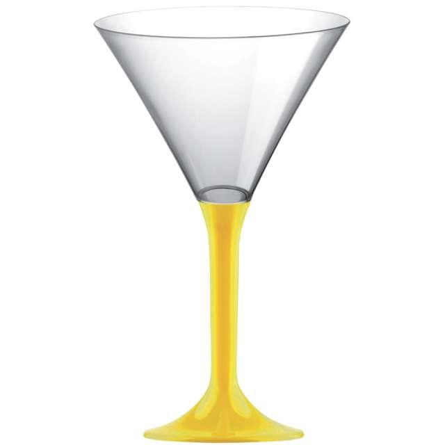 """Kieliszki jednorazowe """"Martini Aperitif"""", żółte, GoldPlast, 185 ml, 10 szt"""