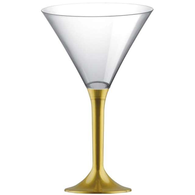 """Kieliszki jednorazowe """"Martini Aperitif"""", złote, GoldPlast, 185 ml, 10 szt"""