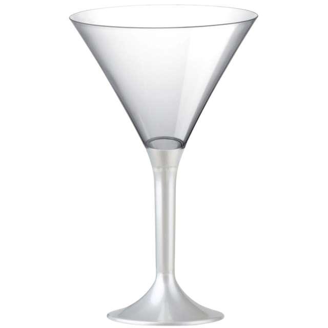 """Kieliszki jednorazowe """"Martini Aperitif"""", perłowe, GoldPlast, 185 ml, 10 szt"""
