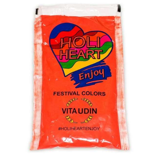 """Proszek kolorowy """"Holi Heart"""", czerwony, Godan, 120 g"""