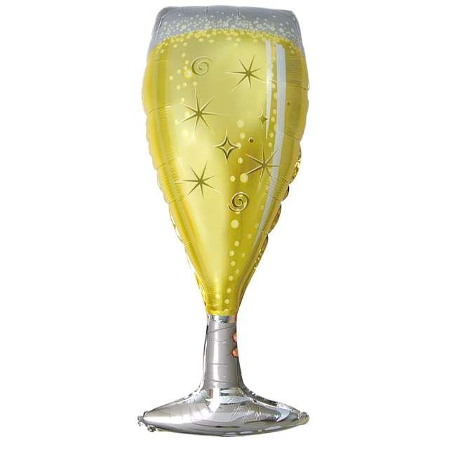 """Balon foliowy """"Kieliszek szampana"""", Partypal, 39"""" SHP"""