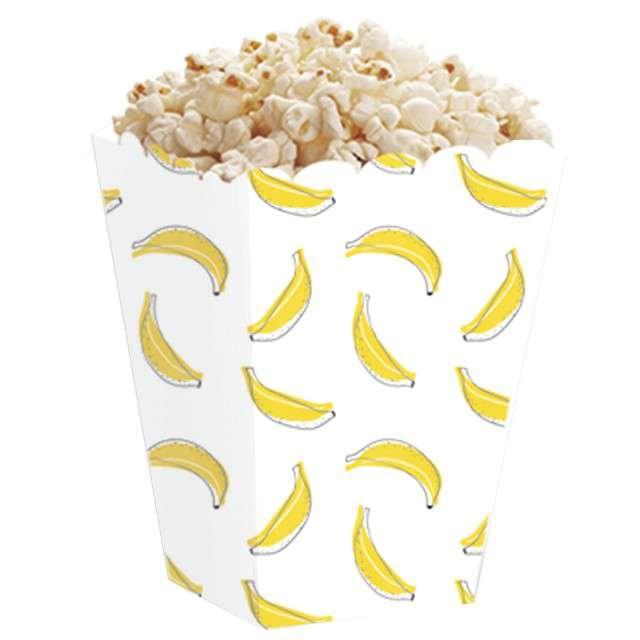 Pudełka na popcorn Banana Party PartyPal  5 szt