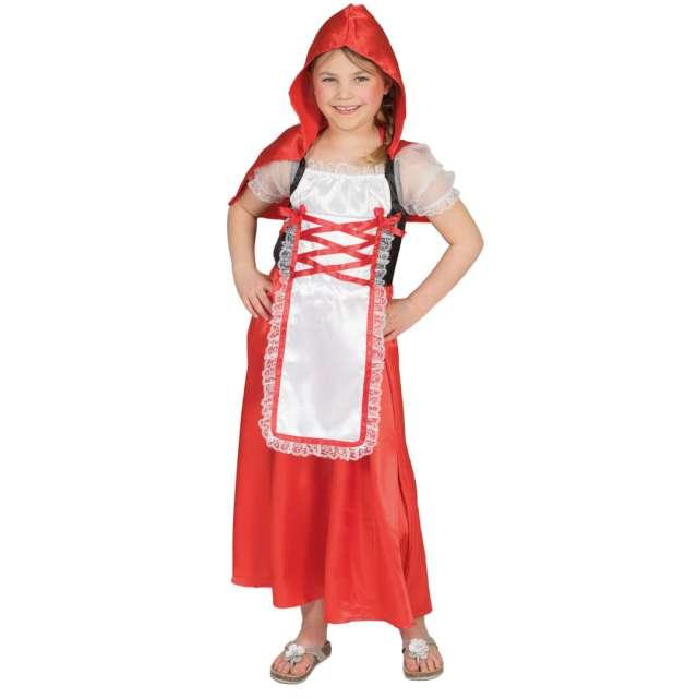 """Strój dla dzieci """"Czerwony Kapturek"""", Funny Fashion, rozm. 128"""