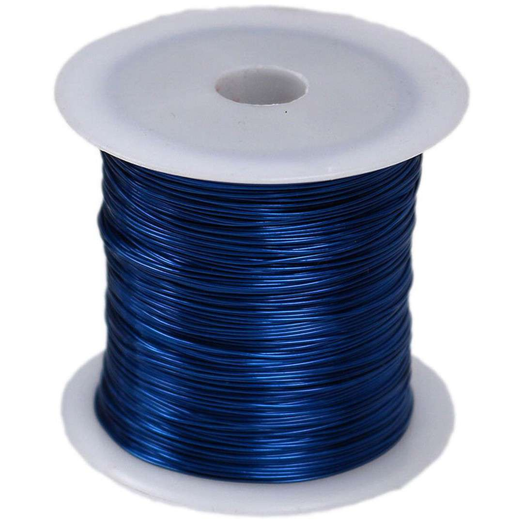 """Drucik florystyczny """"Classic"""", niebieski, Titanum, 0,45 mm, 30 m"""