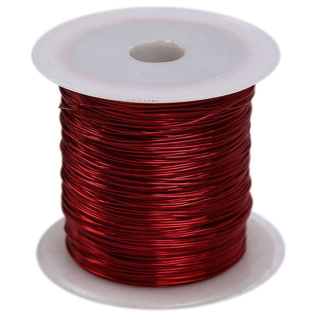 """Drucik florystyczny """"Classic"""", czerwony, Titanum, 0,45 mm, 30 m"""