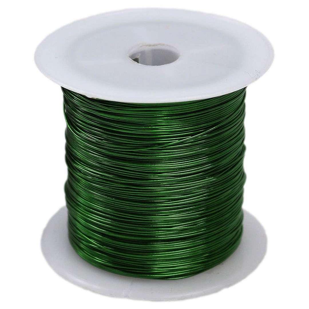 """Drucik florystyczny """"Classic"""", zielony, Titanum, 0,45 mm, 30 m"""