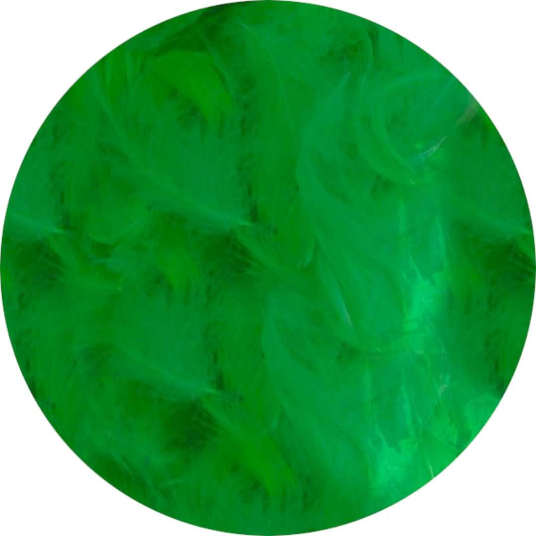"Piórka dekoracyjne ""Classic"", zielone, Titanum, 16 g"