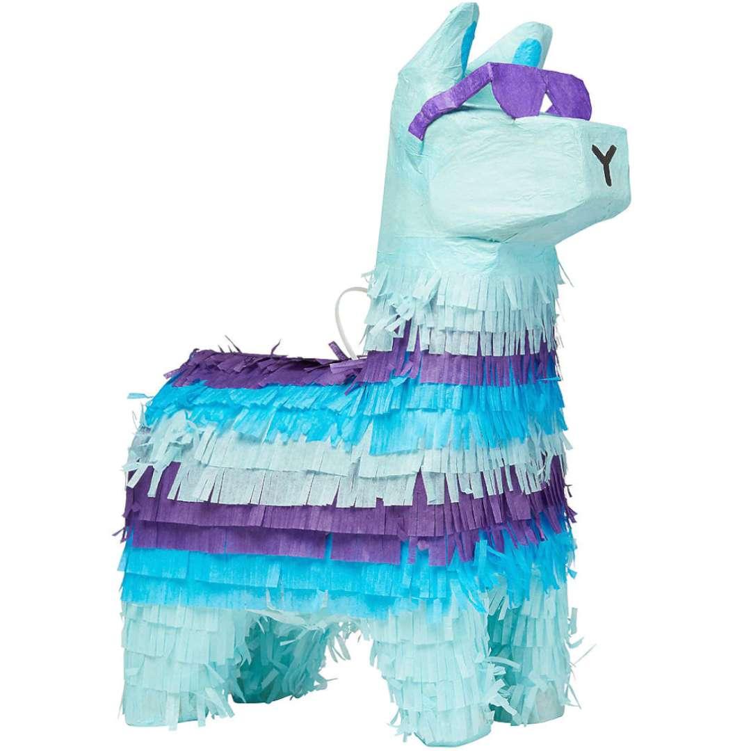"Piniata ""Lama - Battle Royale"", niebieska, Amscan, 46 cm"