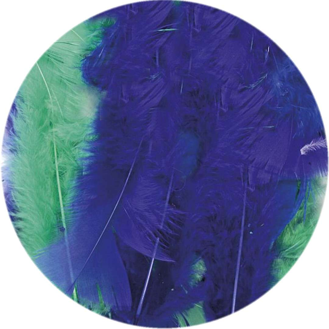 "Piórka dekoracyjne ""Classic"", mix 3, Titanum, 8 g"