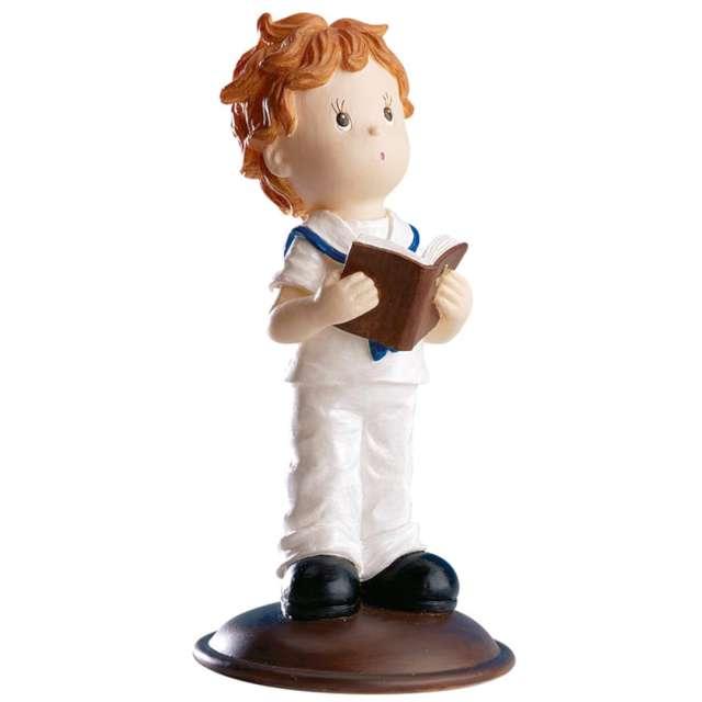 """Figurka na tort """"Chłopiec z modlitewnikiem"""", Dekora, 12 cm"""