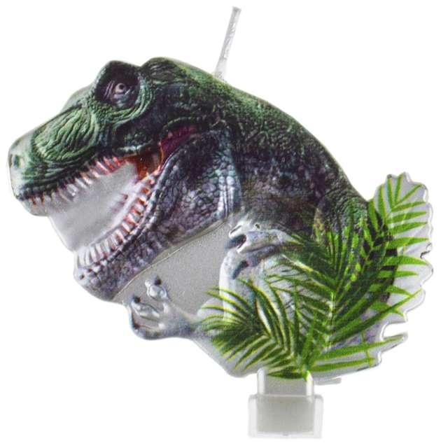 "Świeczka na tort ""Dinozaur - Tyranozaur"", Godan"