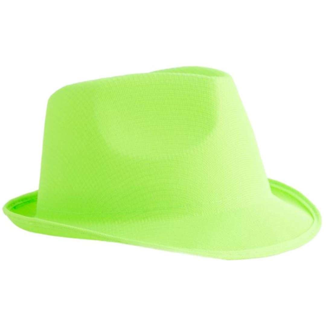 """Kapelusz """"Neon Fedora"""", zielony, Funny Fashion"""