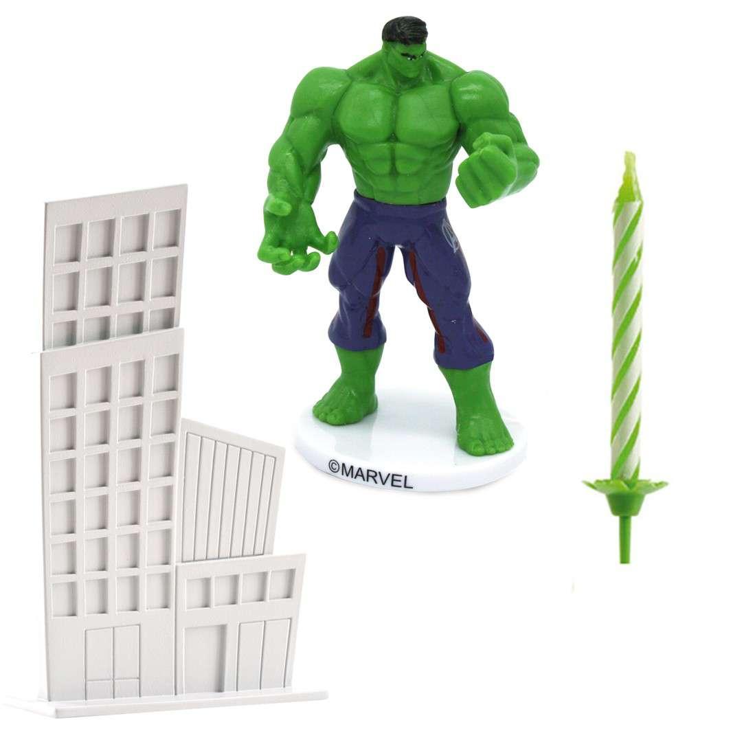 "Figurka na tort ""Hulk - Zestaw Avengers"", Dekora"