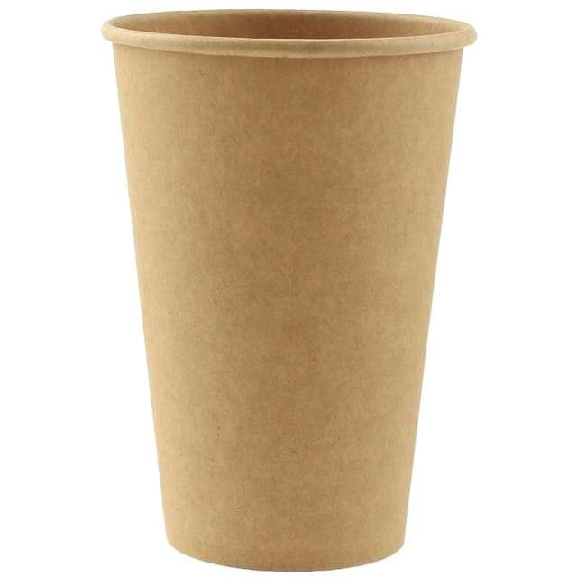 """Kubeczki papierowe """"Ekologiczne duże"""", naturalne, Godan, 375 ml, 6 szt."""