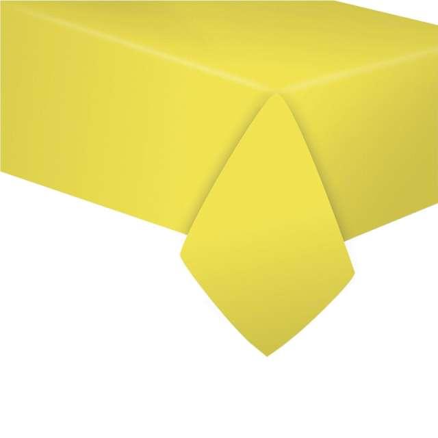 """Obrus papierowy """"Classic"""", żółty, Godan, 183 x 132 cm"""