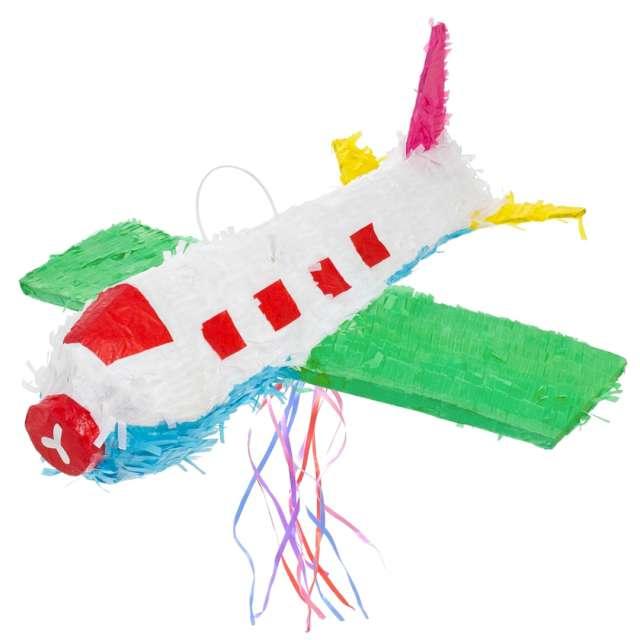 "Piniata ""Samolot - zielony"", Godan, 46 x 44 cm"
