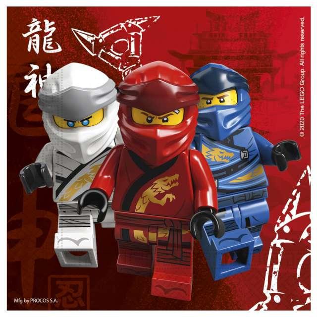 "Serwetki ""Lego Ninjago"", Procos, 33 cm, 16 szt"