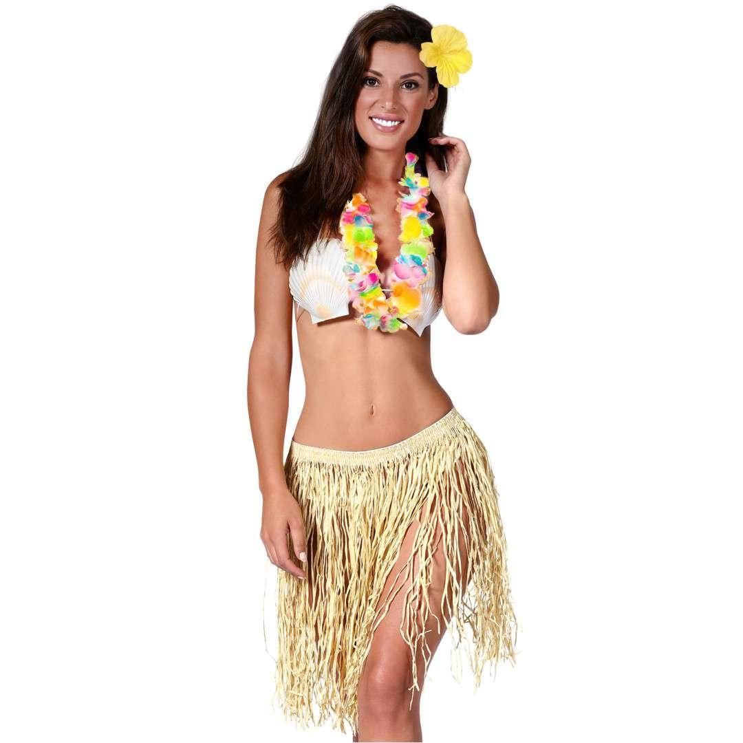 """Zestaw """"Hawajskie Party"""", słomkowy, GUIRCA"""