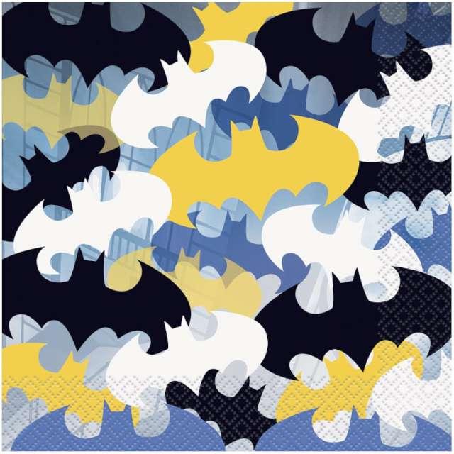 "Serwetki ""Logo Batman"", Unique, 33 cm, 16 szt"
