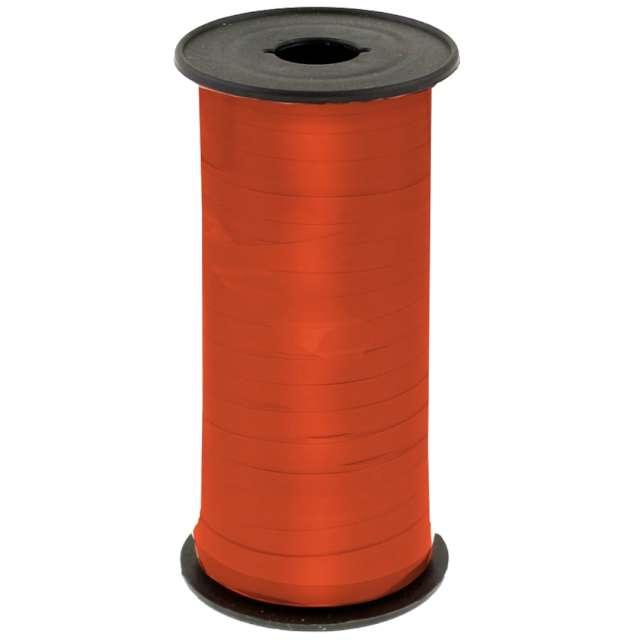 """Wstążka do balonów """"Lustrzana"""", pomarańczowa, Godan, 5 mm/92 m"""