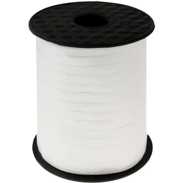 Wstążka do balonów Pastelowa biała Godan 5 mm/458 m