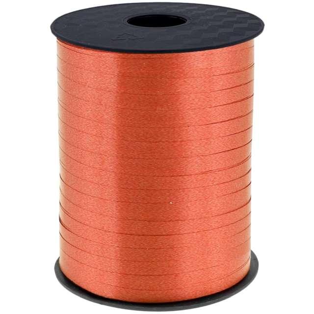 """Wstążka do balonów """"Pastelowa"""", pomarańczowa, Godan, 5 mm/458 m"""