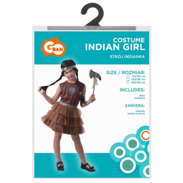 Strój dla dzieci Indianka Godan rozm. 120-130
