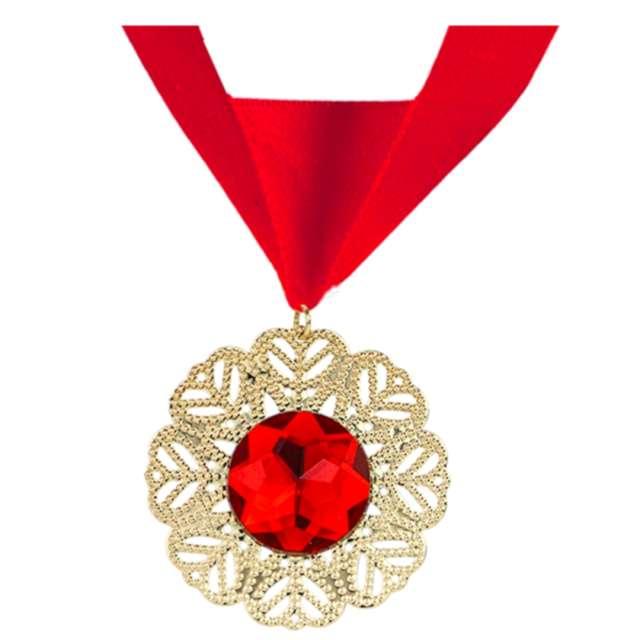 """Naszyjnik """"Medalion Wampira"""", czerwony, Widmann"""