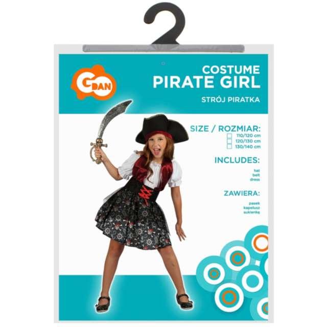 Strój dla dzieci Piratka Godan rozm. 120-130