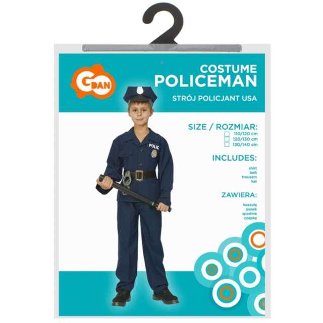 Strój dla dzieci Policjant USA Godan rozm. 130-140