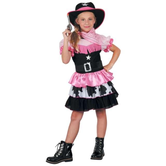 Strój dla dzieci Różowa kowbojka Godan rozm. 130-140