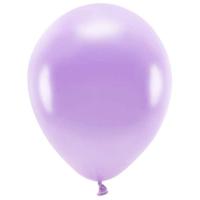 Balony Ekologiczne lawendowy metalik Partydeco 12 10 szt