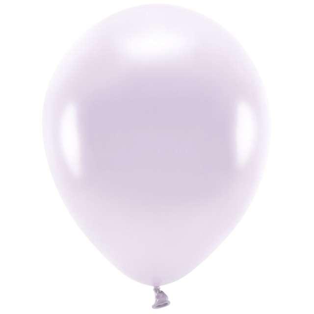 """Balony """"Ekologiczne"""", liliowy metalik, Partydeco, 12"""", 10 szt"""