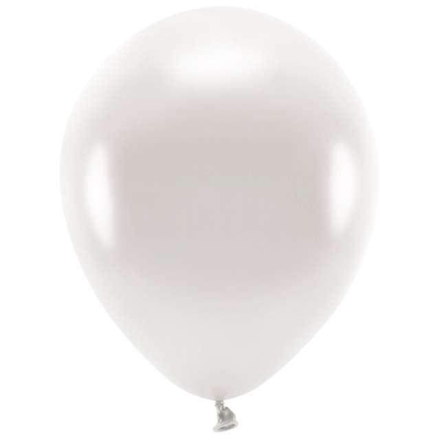 """Balony """"Ekologiczne"""", perłowy metalik, Partydeco, 12"""", 10 szt"""