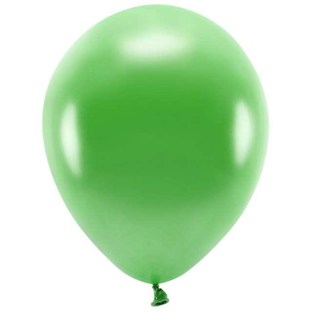 """Balony """"Ekologiczne"""", zielona trawa metalik, Partydeco, 12"""", 10 szt"""