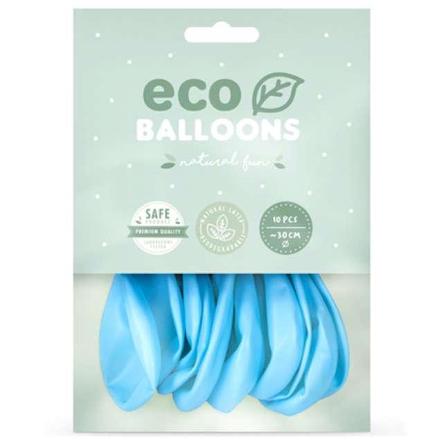 Balony Ekologiczne błękitne Partydeco 12 10 szt