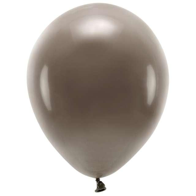 """Balony """"Ekologiczne"""", brązowe, Partydeco, 12"""", 10 szt"""
