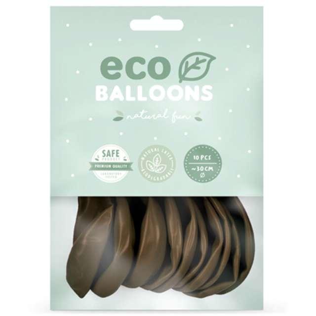 Balony Ekologiczne brązowe Partydeco 12 10 szt