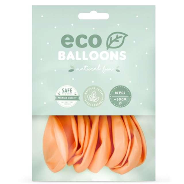 Balony Ekologiczne brzoskwiniowe Partydeco 12 10 szt