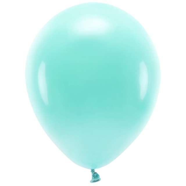 Balony Ekologiczne miętowe ciemne Partydeco 12 10 szt