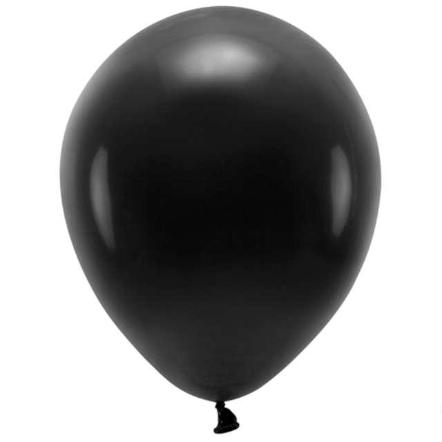 Balony Ekologiczne czarne Partydeco 12 10 szt