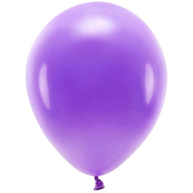 """Balony """"Ekologiczne"""", fioletowe, Partydeco, 12"""", 10 szt"""