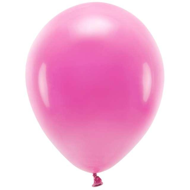 """Balony """"Ekologiczne"""", fuksja, Partydeco, 12"""", 10 szt"""